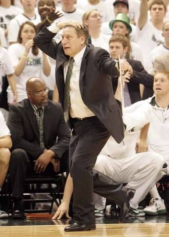 This is what TV Teddy makes Tom Izzo look like.